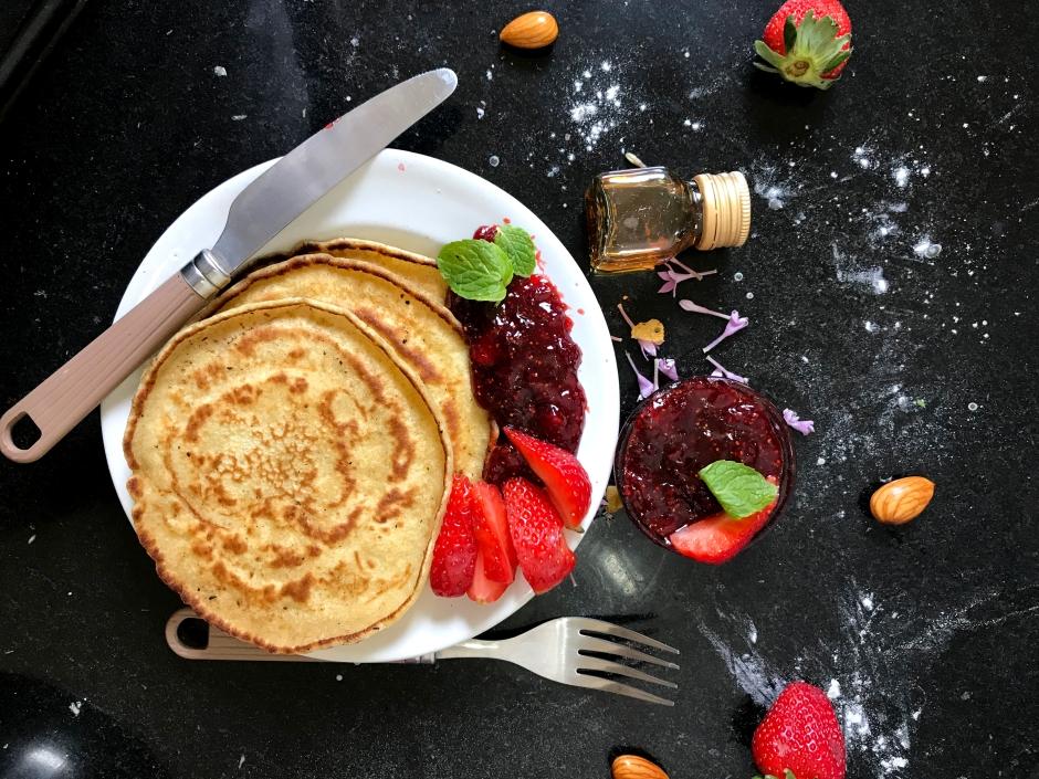 Canva - Pancake on Plate