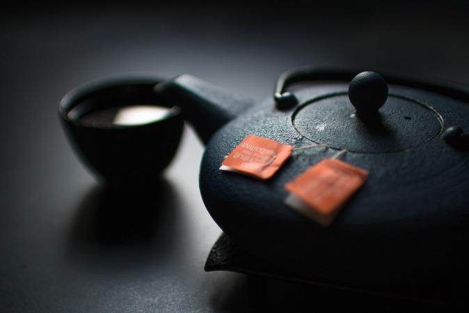 Canva - Tea Pot and a Cup