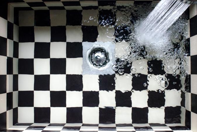 Canva - Checkered Kitchen Tile